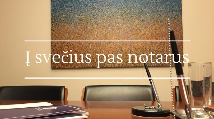 Notaro įkainiai perkant butą. Ar notaras Vilniuje kainuoja brangiau?