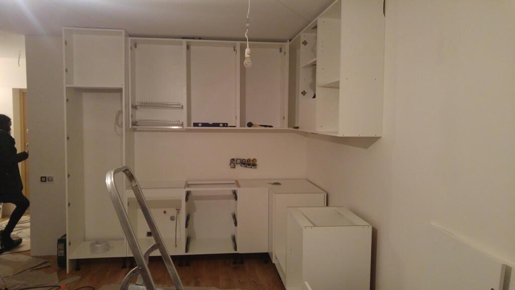mazos virtuves baldai